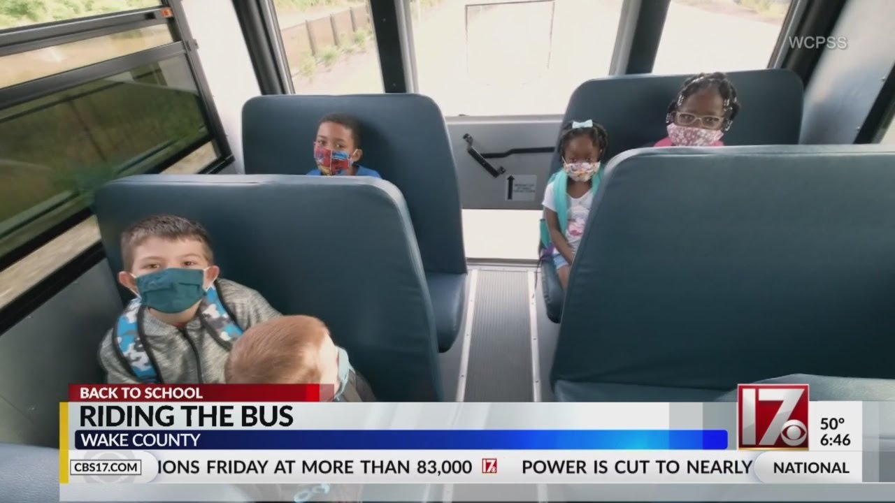 Riding the bus will be different for kids this school year