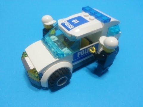 Police Car Lego Lego City Police Car Series 1