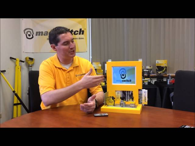 Magswitch Point of Sale Welding Display | Magswitch Technology