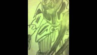 How to draw a halo elite