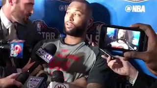 DeMarcus Cousins Finds out He