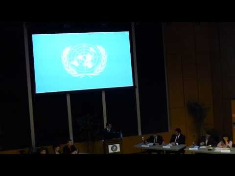 RSCMUN Mock UN Security Council Meeting on Syria (1 of 6)