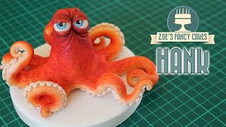 One of Zoes Fancy Cakes's most viewed videos: Finding Dory cake topper: Hank the octopus model (septopus)