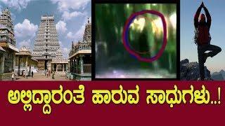ಅಲ್ಲಿದ್ದಾರಂತೆ ಹಾರುವ ಸಾಧುಗಳು..! Mystery of flying sadhus..! Thiruvannamalai..!/ Media Masters