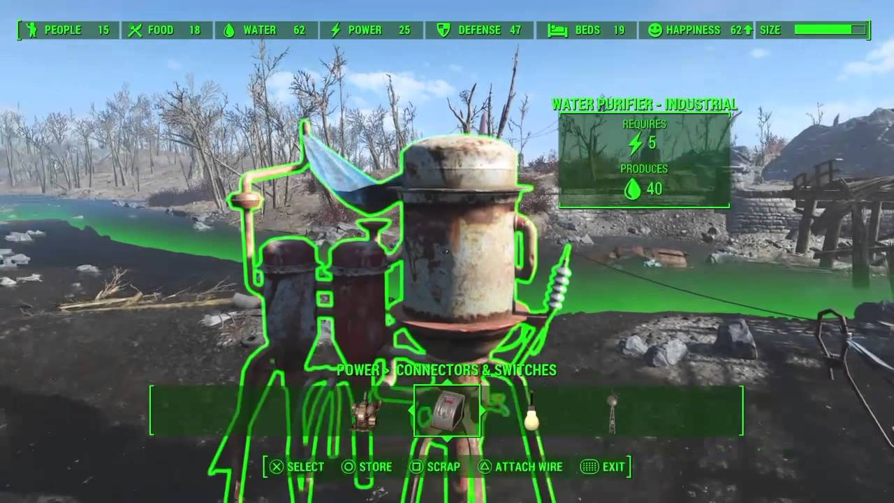 Fallout 4 Industrial Water Purifier Youtube