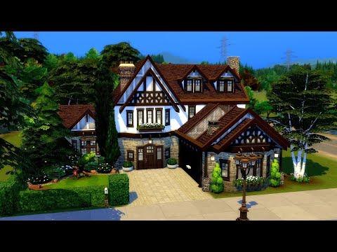 The Sims 4    Speed Build    Rosewood Lane thumbnail