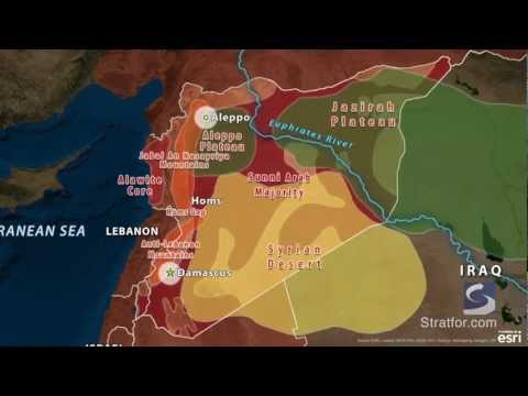 Syria's Geographic Challenge