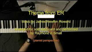 Theme from ER performed by Ray [pianist perspective]