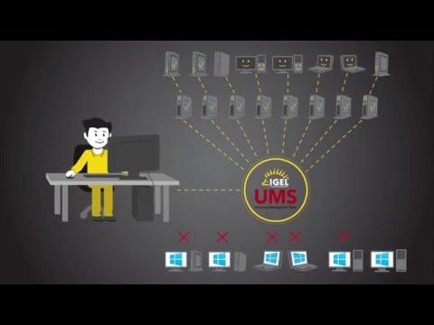 IGEL Unified Management Agent (UMA) - Managed Workspace Solution for Windows Desktops