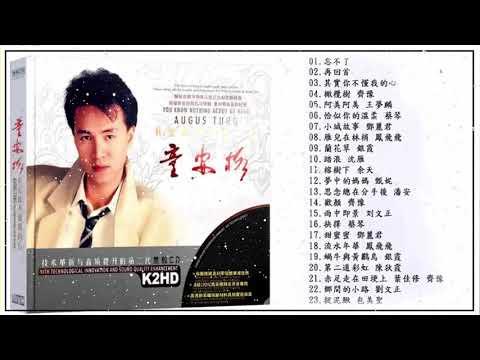 【童安格 Tong Ange】華語歌曲精選專輯 【10首】Hokkien 【 忘不了 再回首 其實你不懂我的心】潘美辰金曲回顾上海演唱会