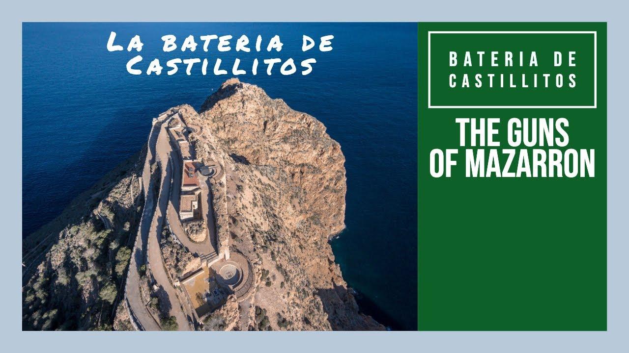 "La bateria de Castillitos ""The Guns"" Mazarron Murcia Spain #camposolspain #expatinmazarron"