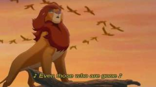 Disney The Lion King We are one HQ w Lyrics.mp3