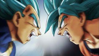 Goku vs Vegeta [AMV] - Illuminati Remix