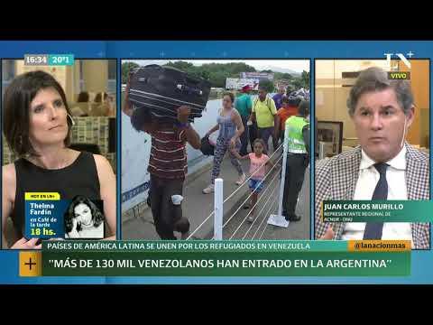 Venezuela: a fines de 2019 habrá 5,5 millones de migrantes en Latinoamérica