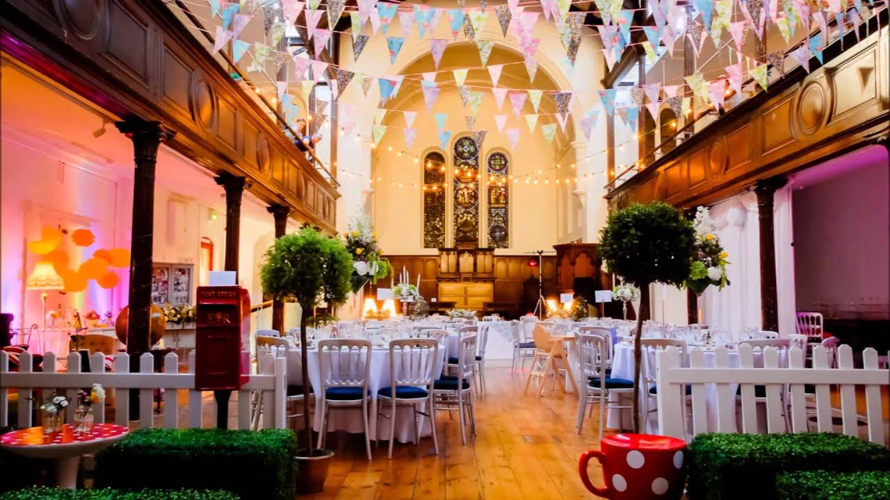 Vintage Tea Party Wedding by Theme-Works Weddings - YouTube