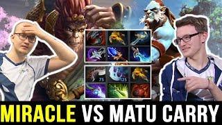 MIRACLE vs MATUMBAMAN Very Epic Game - Monkey vs Monkey 7.23 Dota 2