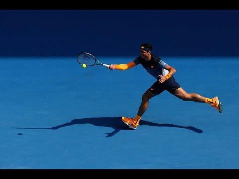 Milos Raonic v Stan Wawrinka highlights (4R) | Australian Open 2016