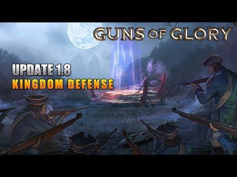 Guns of Glory: Update 1.8 - Kingdom Defense