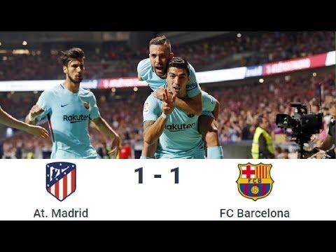 Season 2017/2018. Atletico de Madrid - FC Barcelona - 1:1