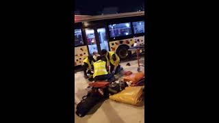 Accident in yishun 09/07/2018 be more careful on traffic light