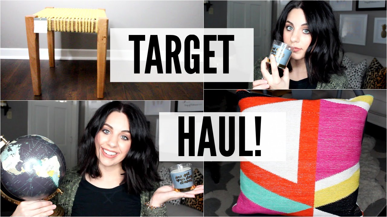 home decor haul target february 2016 youtube - Target Home Decor