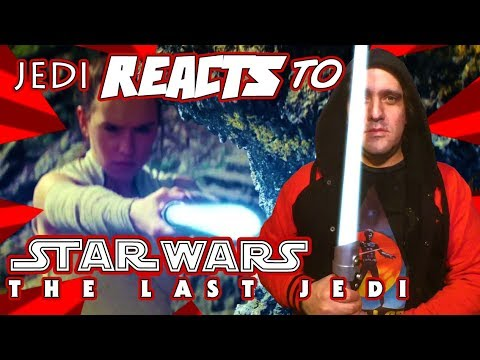"JEDI REACTS!: ""Star Wars: The Last Jedi"" Official Trailer 😱"