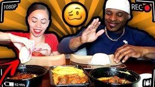 FUFU CHALLENGE TIKTOK  FUFU MUKBANG  EGUSI   AFRICAN FOOD   EATING SHOW