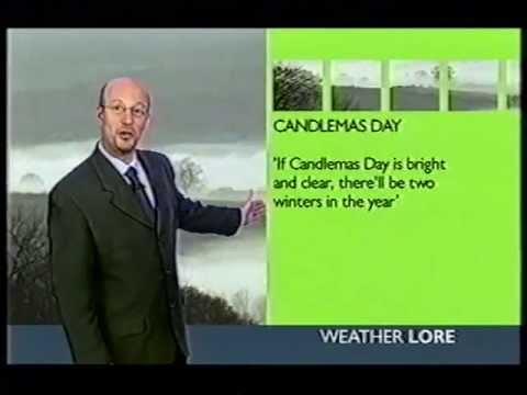 BBC Weather 2nd February 2004