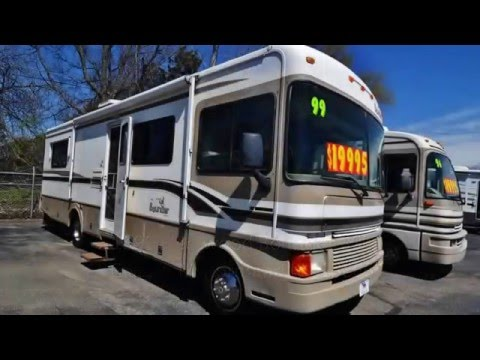 1999 Fleetwood Bounder 30E Class A Motorhome For Sale At RCD Sales 13866
