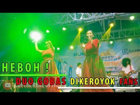 Cupita Nahan Goyang, Ribuan Fans Serbu Duo Gobas