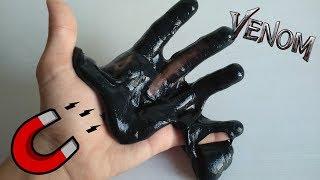 Venom - Simbionte - Slime magnètico DIY