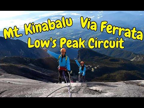 Mt. Kinabalu Via Ferrata Low's Peak Circuit- March 2, 2018