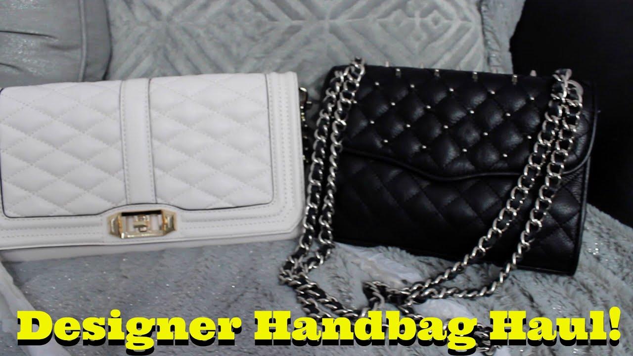 53e055ba53 Designer Handbag Haul! Michael Kors   Rebecca Minkoff - YouTube