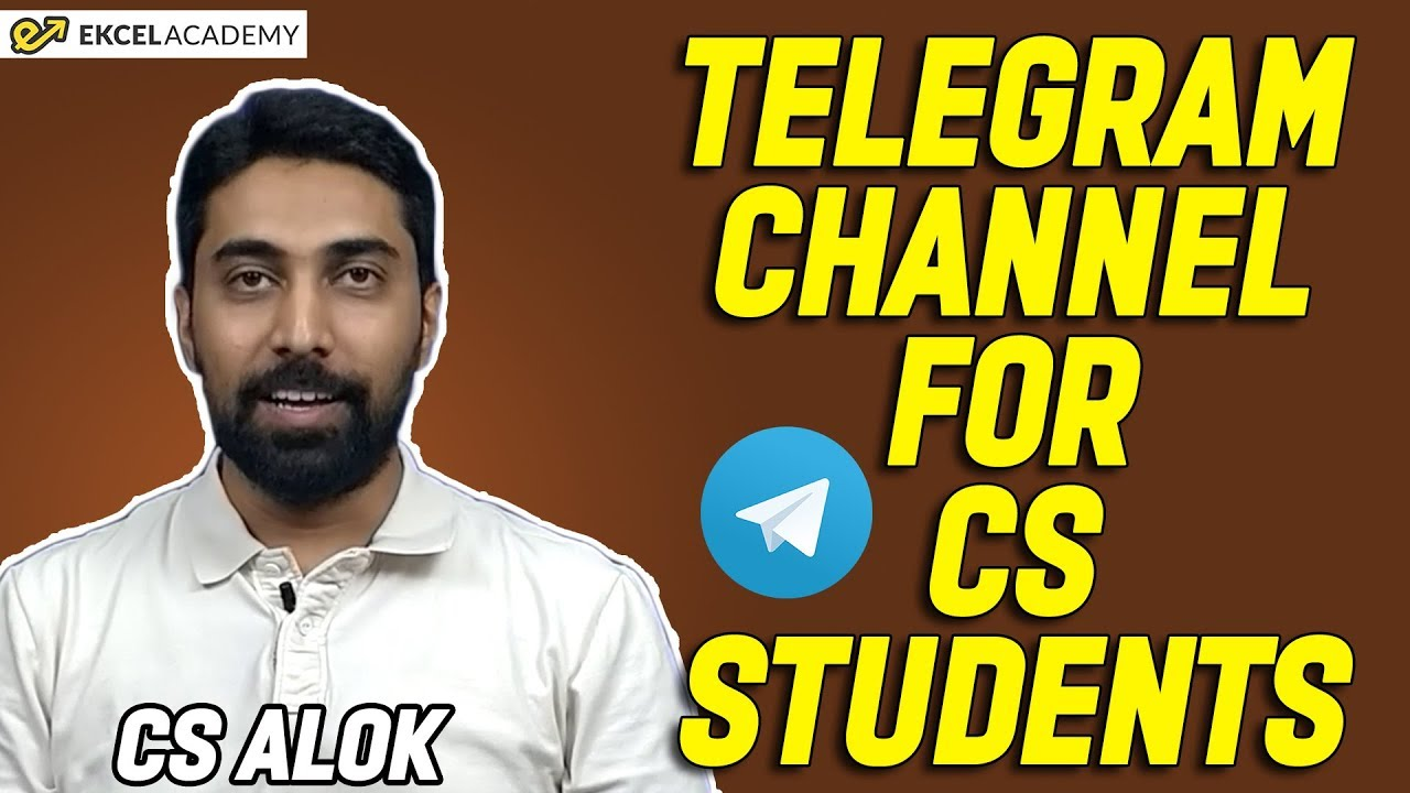 Telegram Channel for CS Students