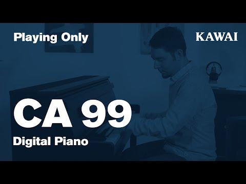 KAWAI CA99 Digital Piano DEMO - Playing Only
