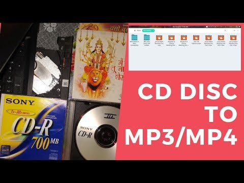 Convert/Save Disc (CD/DVD/VCD) Files To Media Files (MP3/MP4) - Back Up Your Memories