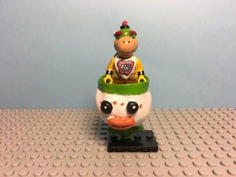 My Custom LEGO: Bowser Jr and Koopa Clown Car
