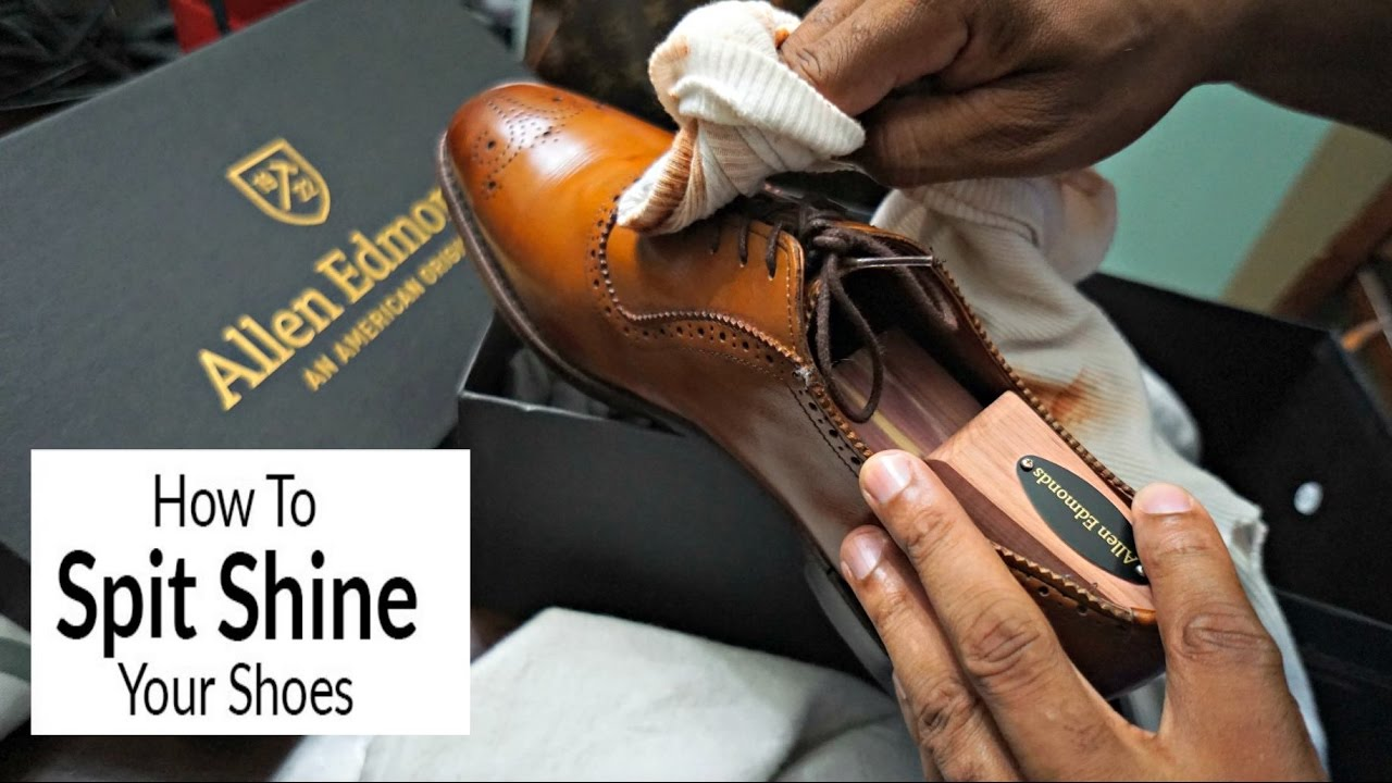 Allen Edmonds Quick Shoe Shine! | How