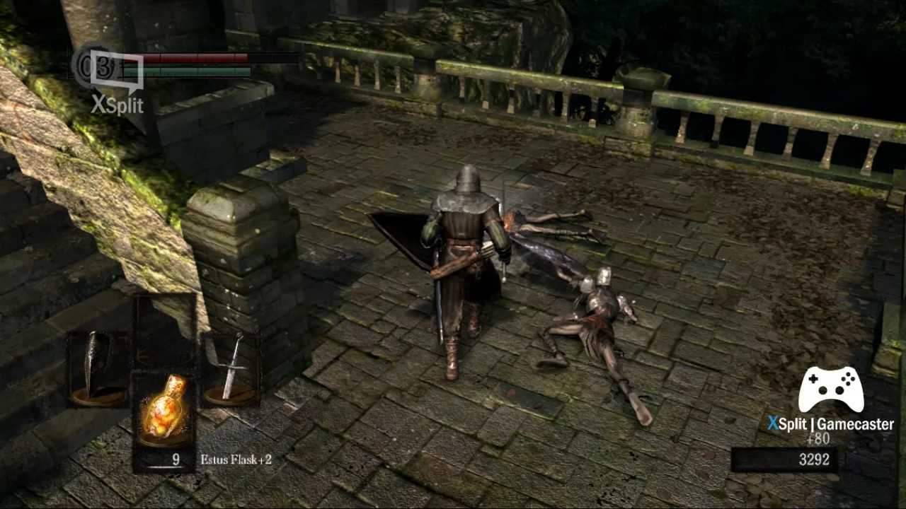 DARK SOULS... Episode 4 Beating the bell tower gargoyles and ...