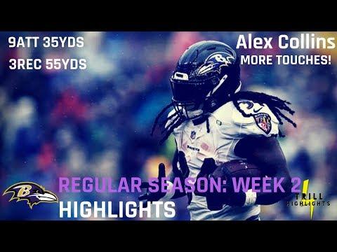 Alex Collins Week 2 Highlights | Needs More 09.13.2018