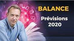 PRÉVISIONS 2020 - BALANCE