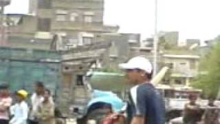 Cricket in Lines Area (Shazaib Hassan 20 20 world cup pakistani opner)