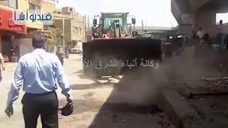 بالفيديو: حملة موسعة لإزالة الإشغالات والتعديات بالقليوبية
