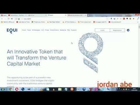 Bridge EQUI - Crypto with venture capital