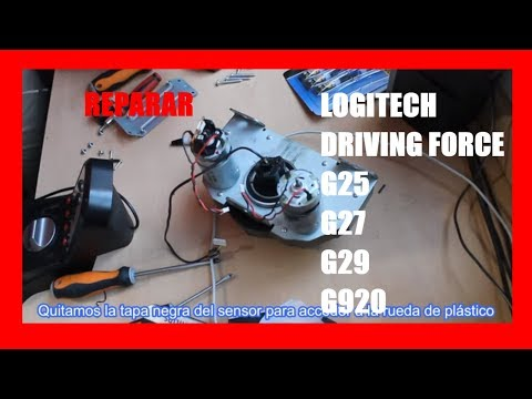 Disassemble And Repair Logitech G25 G27 G29 And Driving Force Youtube