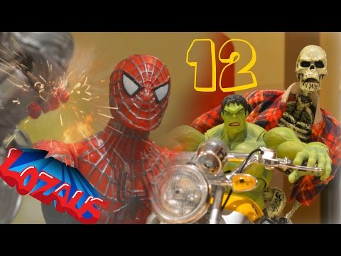 SPIDERMAN STOP MOTION Action Video PART 10 - YouTube