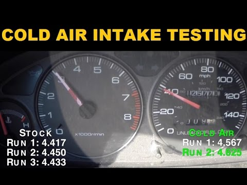 Do Cold Air Intakes Actually Work? - Project Integra