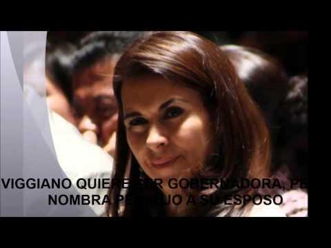 QUIERE SER GOBERNADORA CAROLINA VIGGIANO NOMBRA PENDEJO A SU ESPOSO Y GOBERNADOR DE COAHUILA