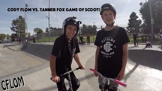 cody flom vs tanner fox game of scoot