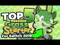Top 5 Possible Starters for Pokemon Switch 2019 Generation 8 (Grass Type Starter)